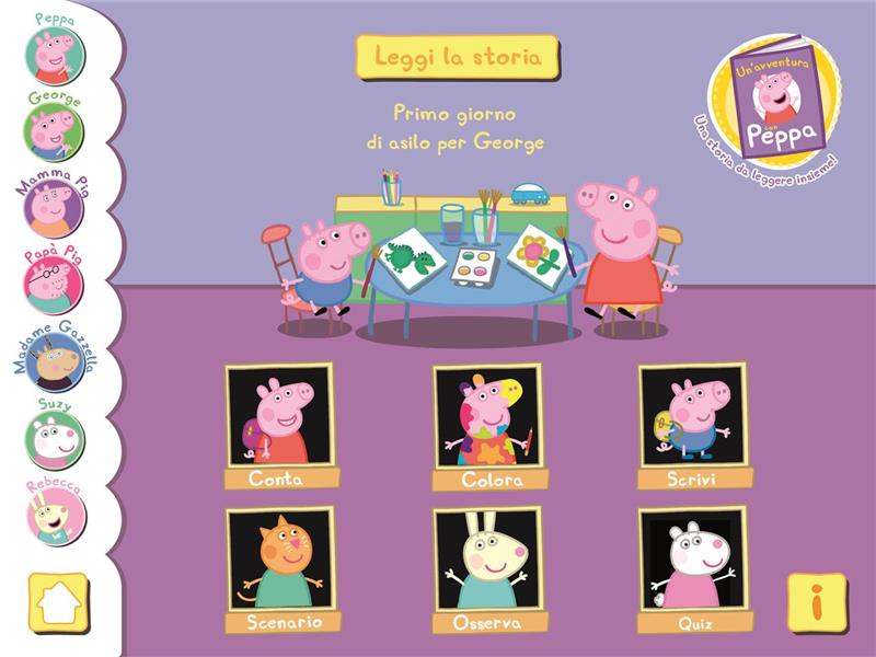 Peppa Pig - l'e-magazine è disponibile su iTunes